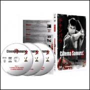 CINEMA SAMURAI 2 -  3 DVDS - 6 Filmes Clássicos - DVD