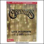 CARPENTERS - LIVE IN LONDON 1971 - DVD