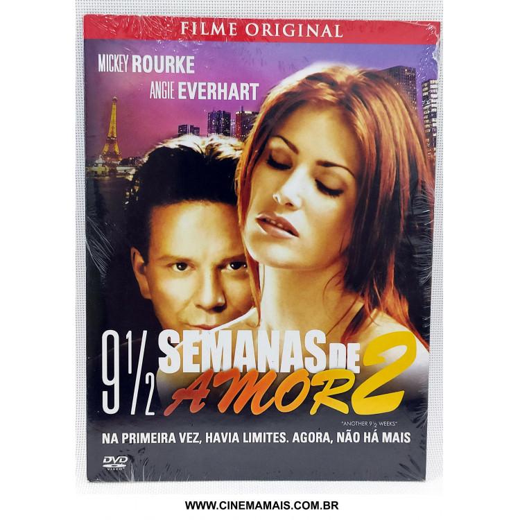 9 Semanas e Meia de Amor 2 - Mickey Rourke e Angie Everhart - DVD