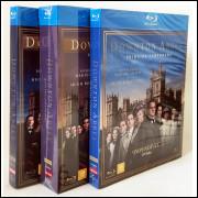 Blu-ray - Downton Abbey - 1ª, 2ª E 3ª Temporada