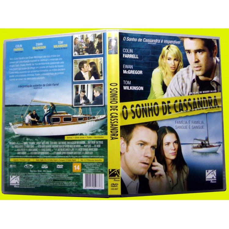 O Sonho De Cassandra  Dvd Original Novo Lacrado