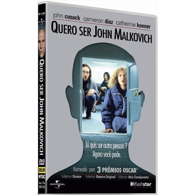 Quero Ser John Malkovich - Dvd - Original Novo Lacrado