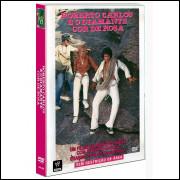 Dvd Roberto Carlos E O Diamante Cor De Rosa  Dvd Original