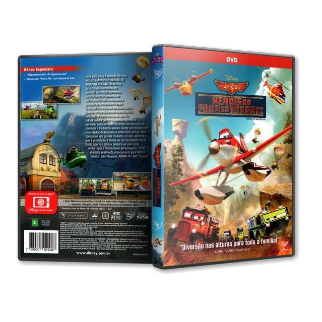 Aviões 2 - Heróis Do Fogo Ao Resgate - Disney Dvd