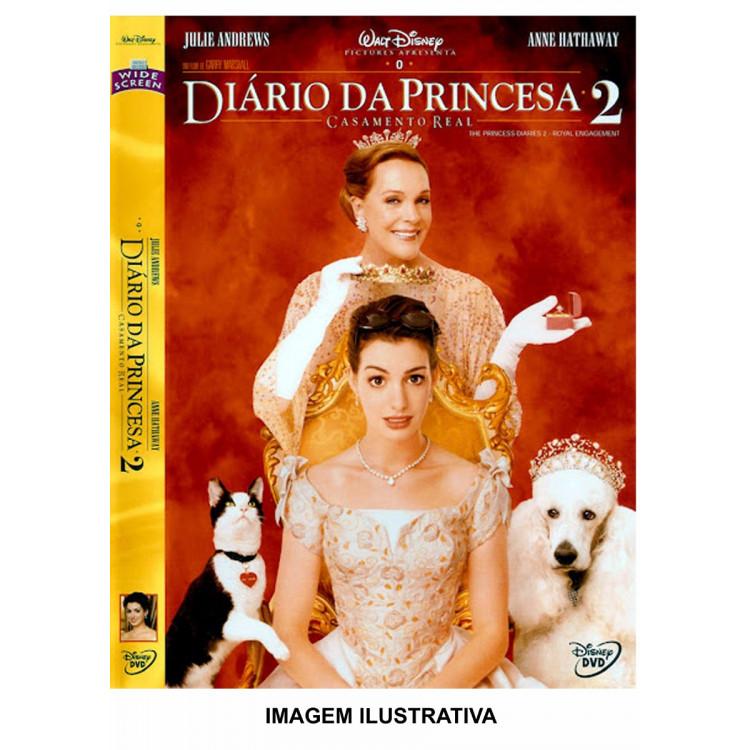 O Diário Da Princesa 2  - Disney  Dvd