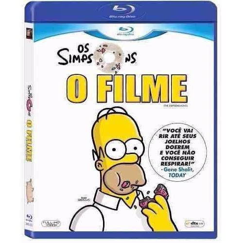Os Simpsons - O Filme  -  Bluray Original Novo Lacrado:)