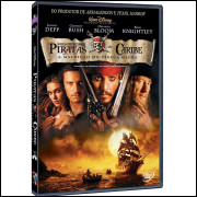 Piratas Do Caribe - A Maldição Do Pérola Negra - Disney Dvd