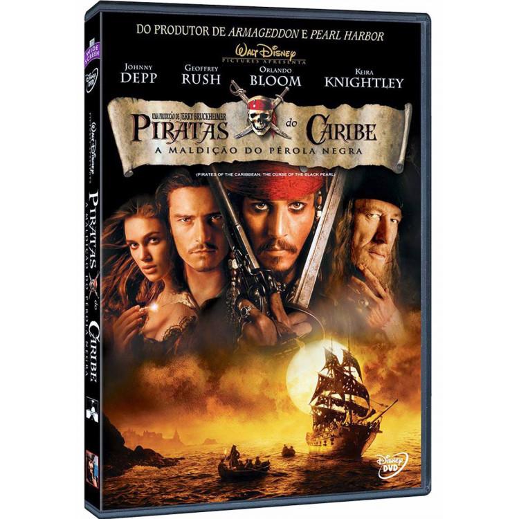 Piratas Do Caribe - A Maldição Do Pérola Negra - Disney Dvd