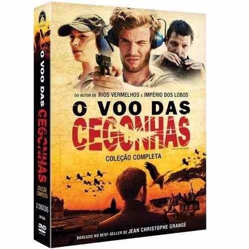 Dvd O Voo Das Cegonhas - Coleção Completa  Original Lacrado*