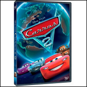 Carros 2  -  Disney Pixar Dvd