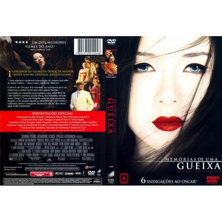 Memórias De Uma Gueixa - Dvd Original Lacrado