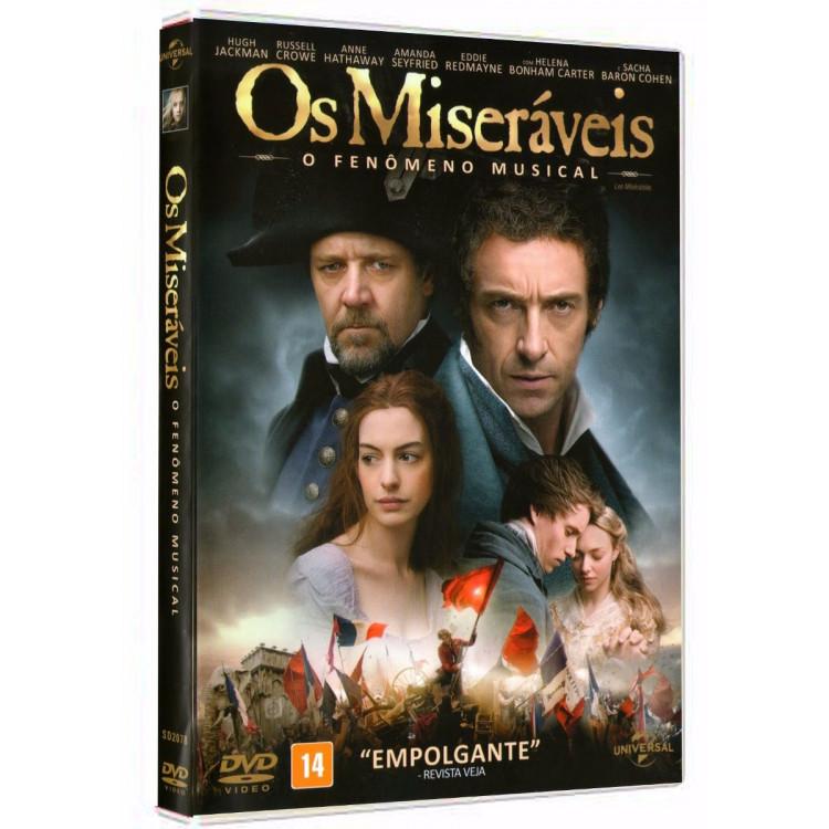 Os Miseráveis O Fenômeno Musical - Hugh Jackman - Dvd