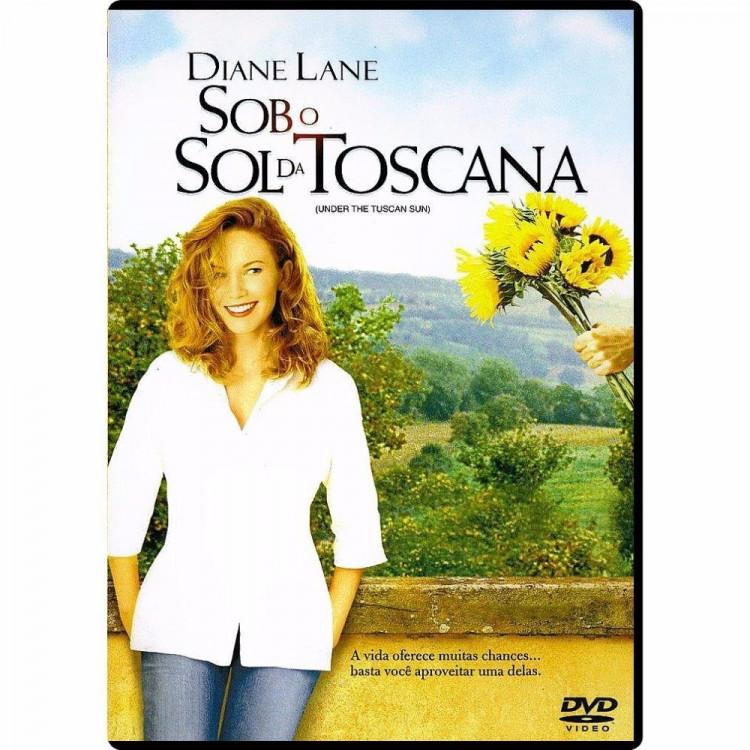 Sob O Sol Da Toscana - Dvd - (original  Novo - Lacrado)