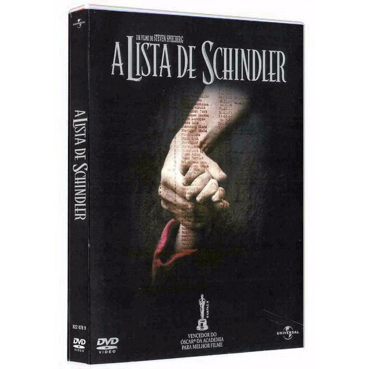 A Lista De Schindler  Dvd