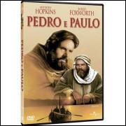 Pedro E Paulo Com Coragem E Fé -  Anthony Hopkins - Dvd