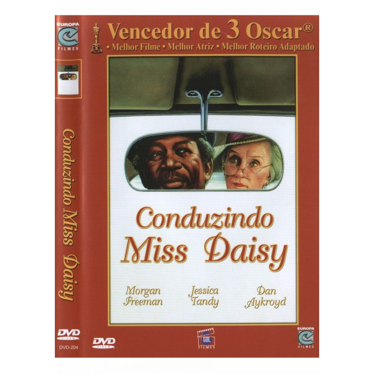 Conduzindo Miss Daisy  Com Morgan Freeman  Dvd