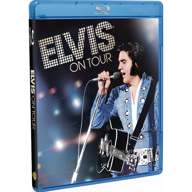 Elvis On Tour - Blu-ray  Original  Lacrado Novo