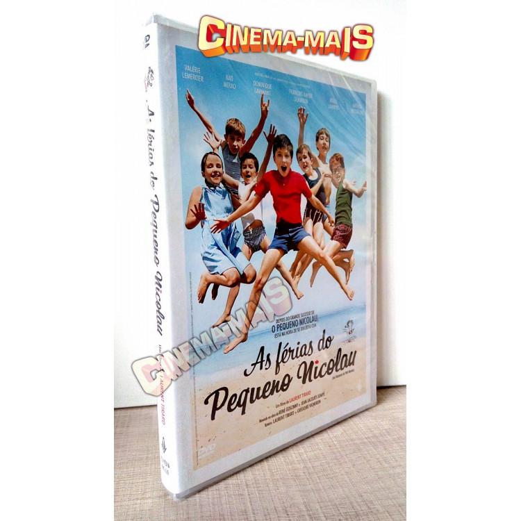As Férias Do Pequeno Nicolau - Dvd
