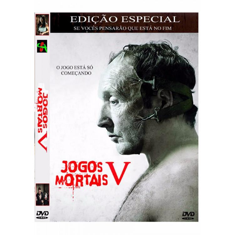 Jogos Mortais V - Fora De Catálogo  Dvd - Orig Lacrado