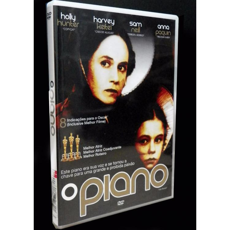 O Piano - 1993 - Dvd Original Novo Lacrado Rarissimo