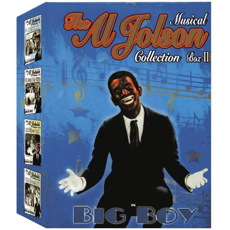 The Al Jolson - Vol. 2 Collection Box Com 4 Dvds -  @