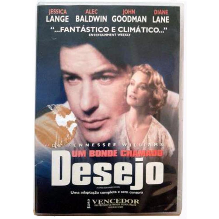 Um Bonde Chamado Desejo - Jessica Lange, Alec Baldwin Dvd  @