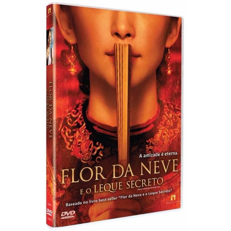 Flor Da Neve E O Leque Secreto - Dvd  Original Lacrado