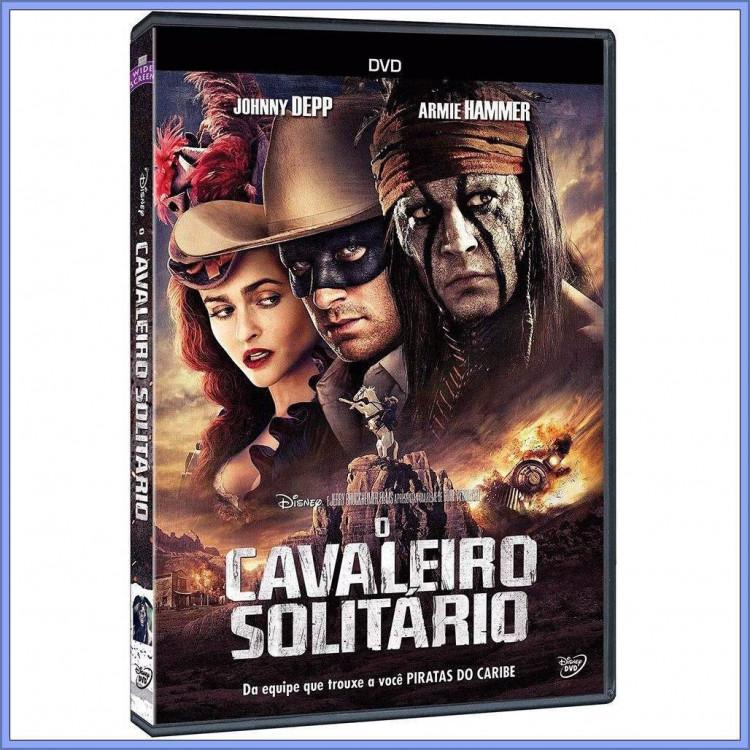 O Cavaleiro Solitário - Johnny Depp - Disney  Dvd