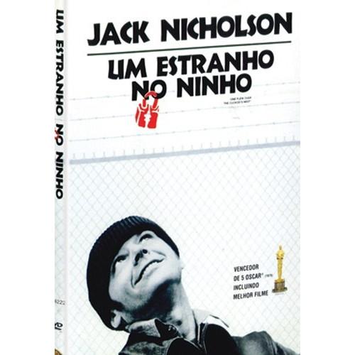 Um Estranho No Ninho -   Com Jack Nicholson - Dvd