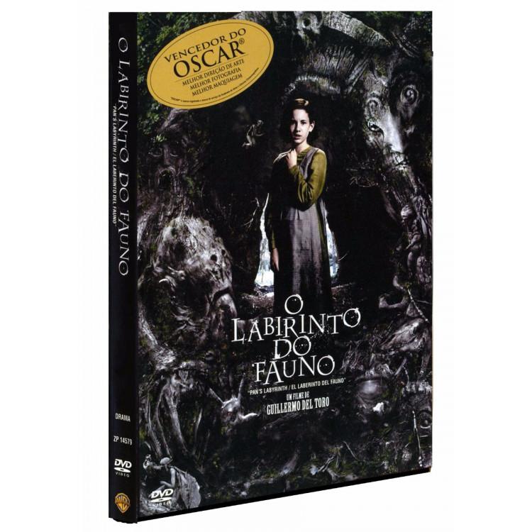 O Labirinto Do Fauno - Dvd