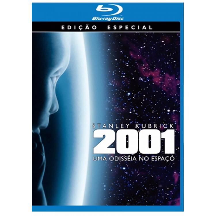 2001 Uma Odisseia No Espaço - Blu-ray Origina Novo