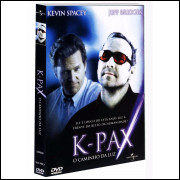 K-pax O Caminho Da Luz Kevin Spacey Dvd Novo Lacrado  Raro @