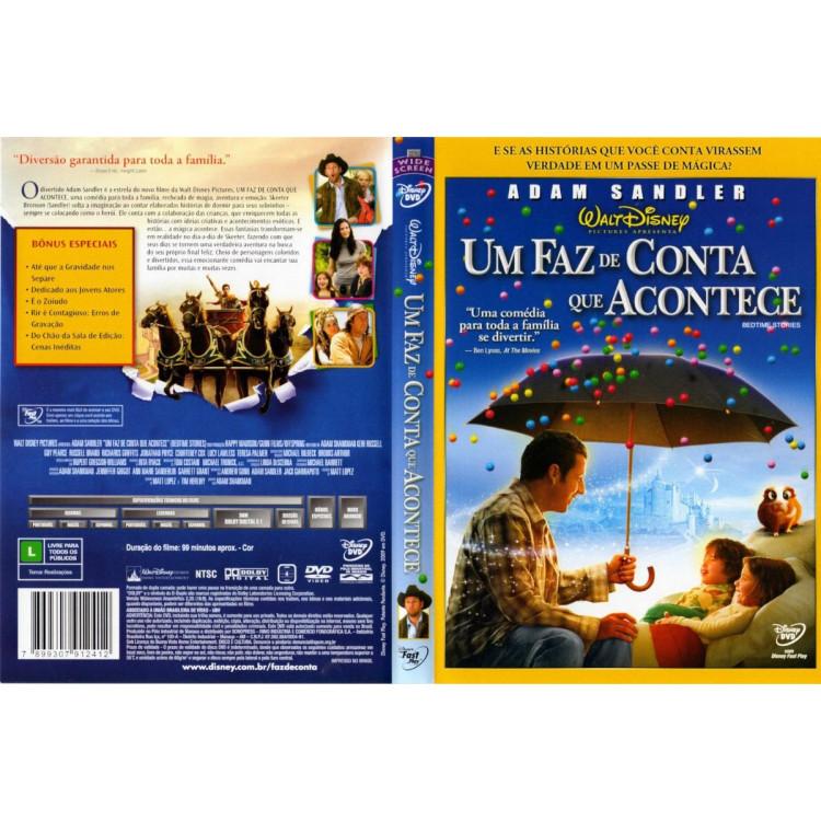 Um Faz De Conta Que Acontece  Dvd