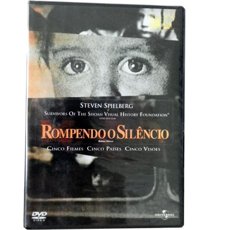 Rompendo O Silêncio - Dvd Duplo -original Novo Lacrado -raro