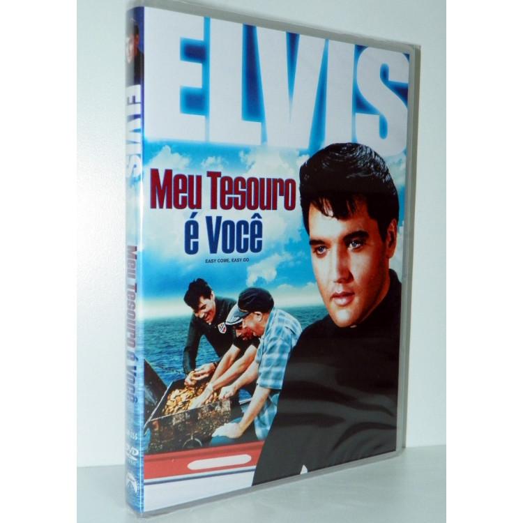 Elvis - Meu Tesouro É Você  - Dvd Original Novo Lacrado