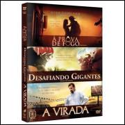 Desafiando Gigantes + A Virada +  (auto Ajuda) 3 Dvds