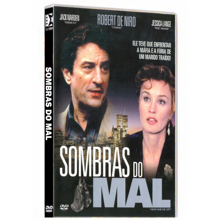 Sombras Do Mal - Robert De Niro - Raro - Dvd - CinemaMais