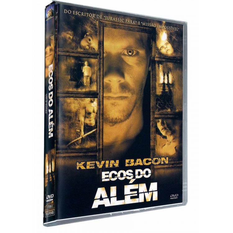 Ecos Do Além  - Kevin Bacon Stir Of Echoes - Dvd