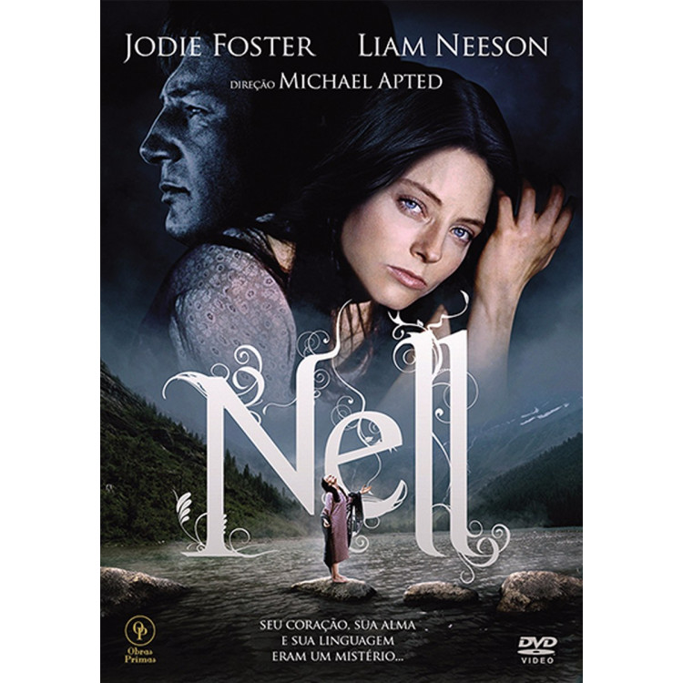 Nell - Com Jodie Foster - Dvd - Novo  Lacrado :)
