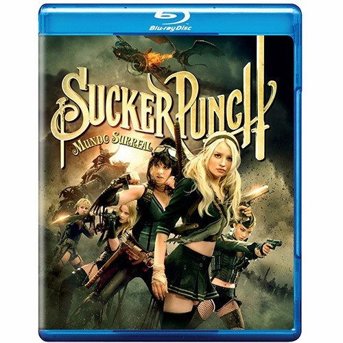 Sucker Punch: Mundo Surreal  - Blu-ray Original Lacrado