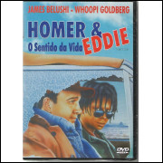Homer & Eddie O Sentido Da Vida - Lacrado  Dvd @