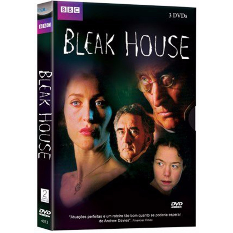 Bleak House - Por Charles Dickens - 3 Dvds