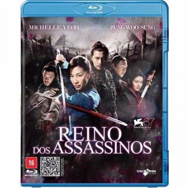 Reino Dos Assassinos - Classico Chines Blu-ray Original Novo