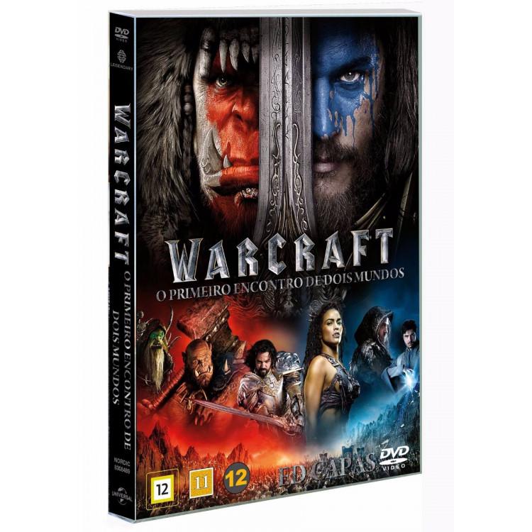 Warcraft: O Primeiro Encontro De Dois Mundos - Dvd Original