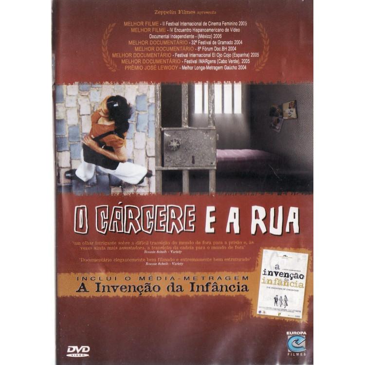 O Cárcere E A Rua - (cinema Nacional) Documentário Dvd