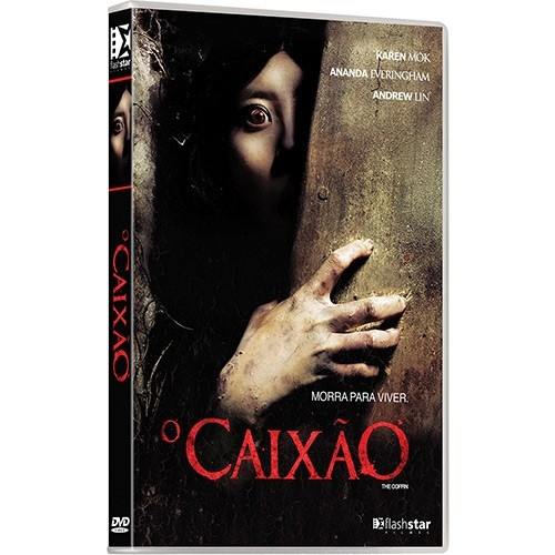 O Caixão -  The Coffin - Dvd Original Novo Lacrado