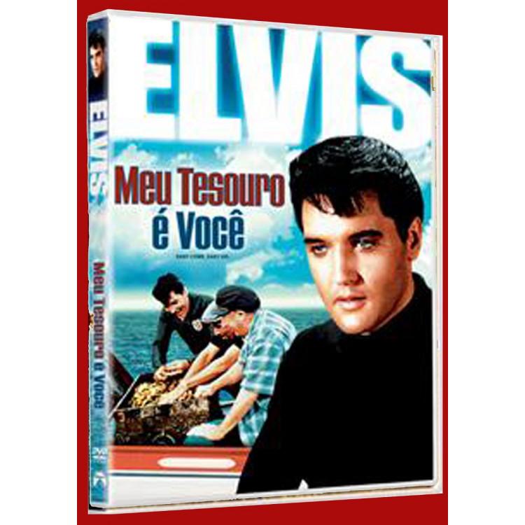 Elvis Presley - Meu Tesouro É Você - Dvd Original Lacrado