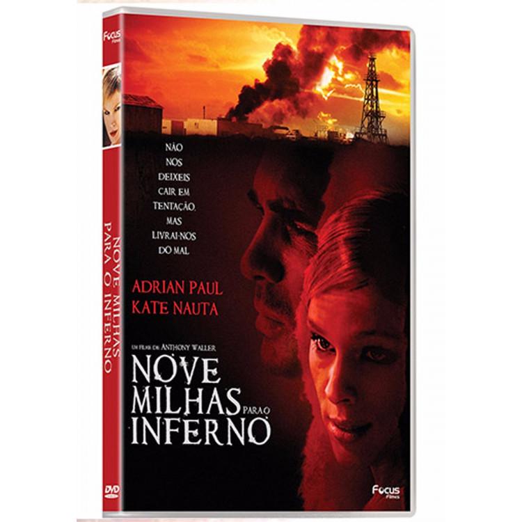 Nove Milhas Para O Inferno - Adrian Paul E Kate Naute Dvd  @