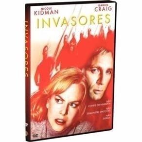 Invasores -  Dvd -  Nicole Kidman E Daniel Craig   @