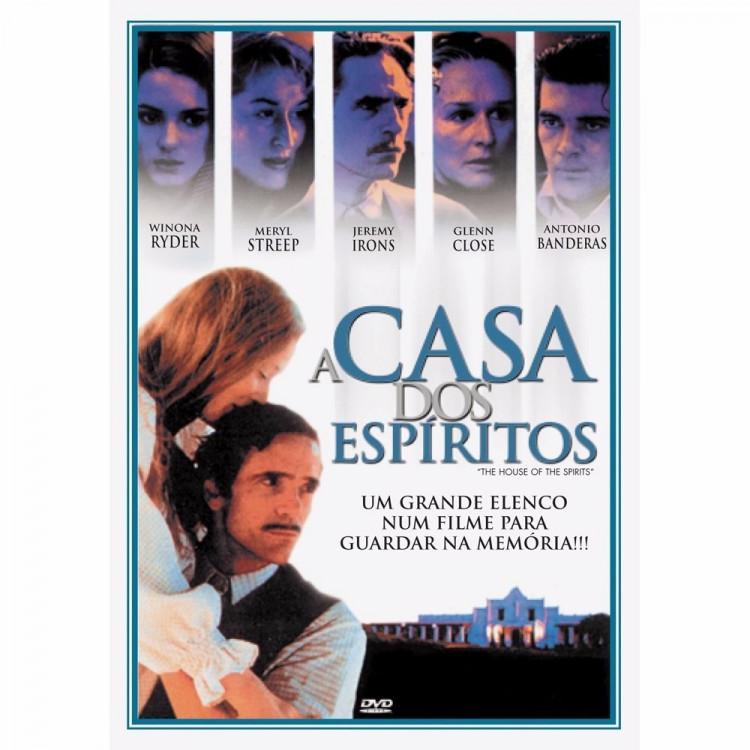 A Casa Dos Espíritos - Antonio Bandeiras -dvd Romance